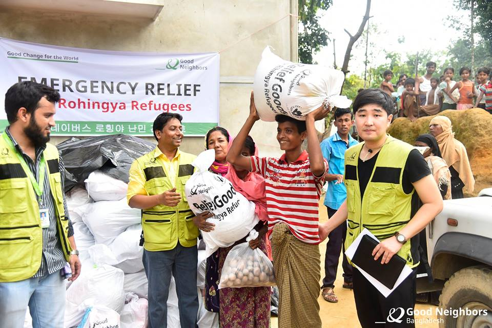 Emergency Relief for the Rohingya Refugees